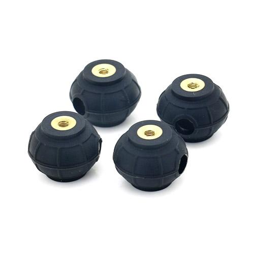 球形硅胶减震器